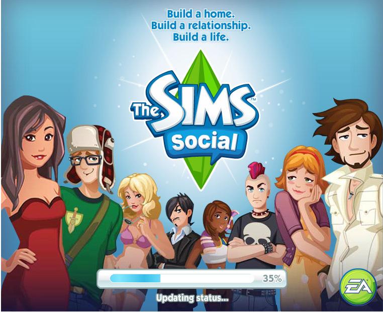 「The Sims」をかなり忠実にソーシャルゲーム化した「The Sims Social」