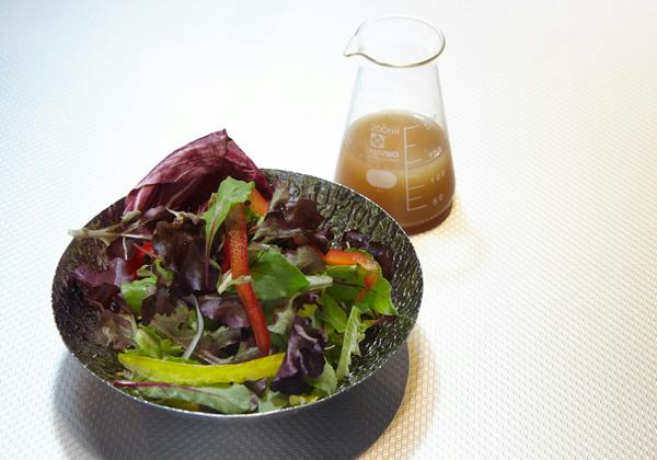 Red & Greem ハーブの調合サラダ(アンブレラドレッシング)