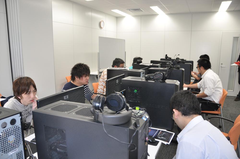 今回は複数のメディアが参加し、いくつかのゲームモードを体験できた