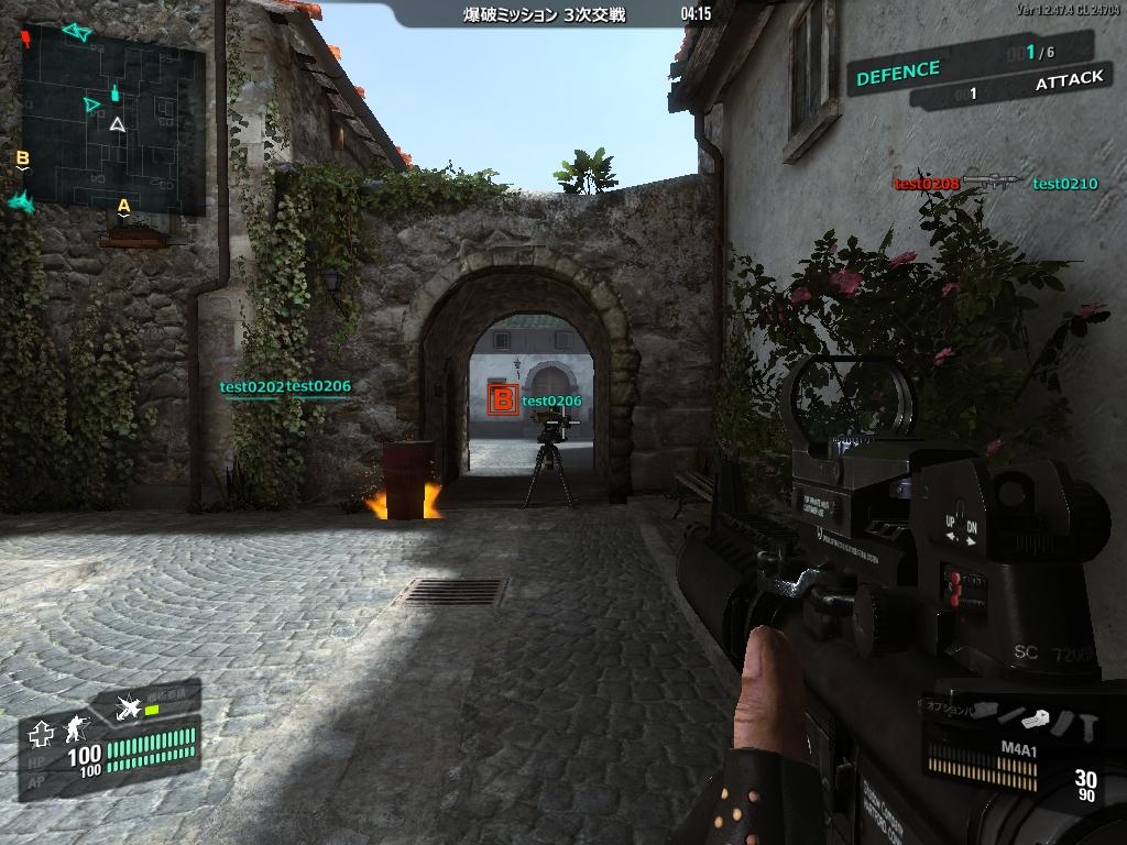 攻撃側と防御側で戦う「爆破ミッション」。マップの把握が勝利の鍵となる