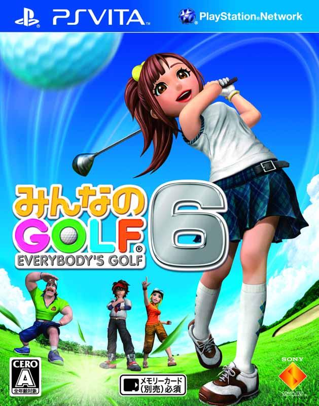 2011年にはPS Vitaのローンチタイトルとして「みんなのGOLF 6」が発売