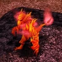 ドラゴンの様なモンスターや、火の精霊の様なモンスター、魔法使いの様なモンスターなどバラエティに富んだモンスターが登場する