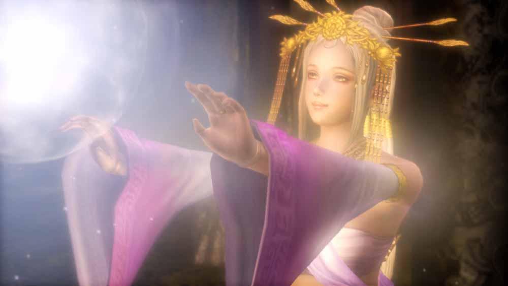 西王母廟が戦渦に巻き込まれるより前、西王母が争いなき世のために祈っていた