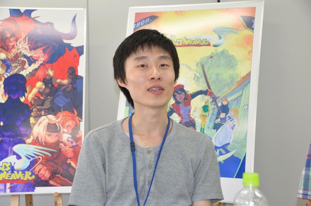 韓国NEXTORIC開発本部開発2室室長のシム・ギフン氏