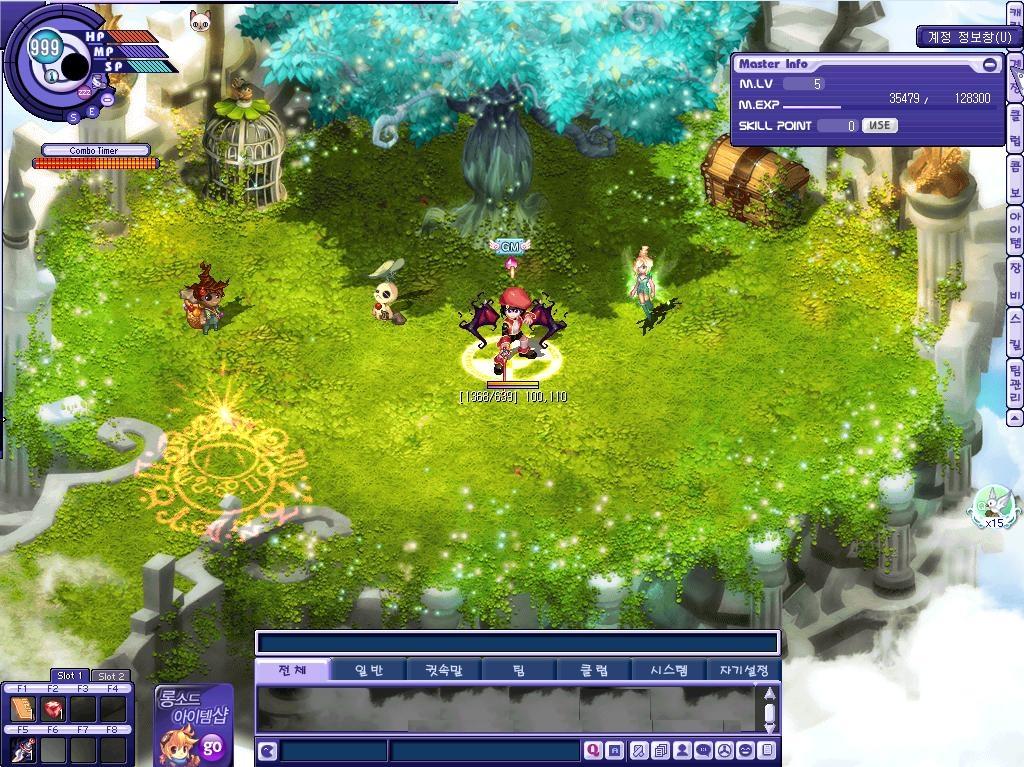 ルーンマスターシステムはキャラクター選択画面も兼ねる。念願のキャラ間のアイテムの受け渡しも可能に