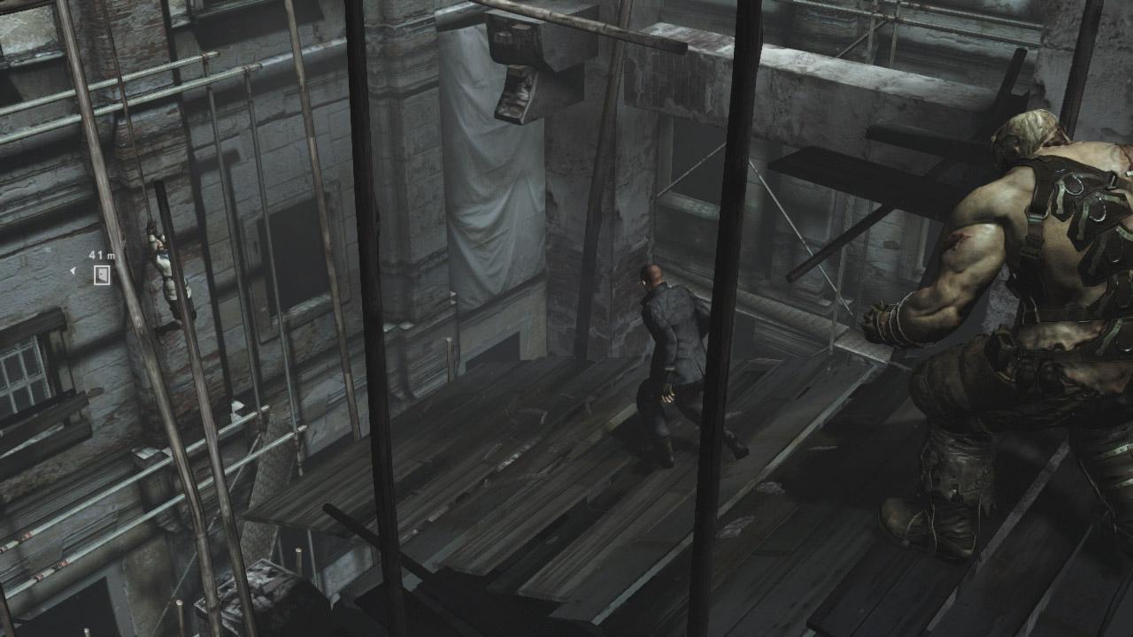 傭兵稼業をしていたとはいえ、常人離れした身体能力を見せるジェイク。それもまた流れる血ゆえか?体術も得意なキャラクターだ