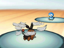 「フェザーダンス」は、羽毛を振りまいて相手の攻撃を大幅に下げる