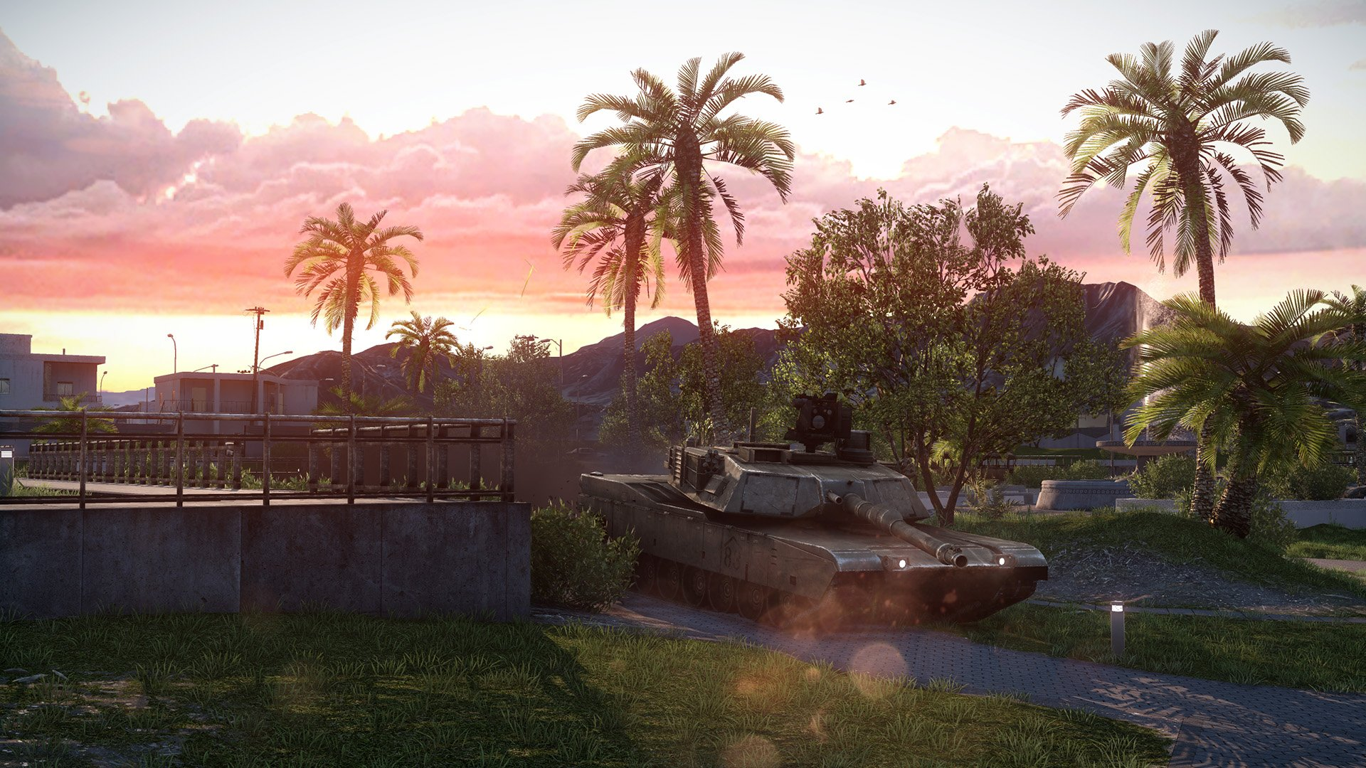 目を見張るほど美しい高精細グラフィックス。PCゲームの分野では一時代を築いた戦車戦シミュレーションゲームを彷彿とさせる迫力ある映像が実現されている。FPSのみならず、多くのミリタリーファンを引きつける拡張パックとなりそうだ