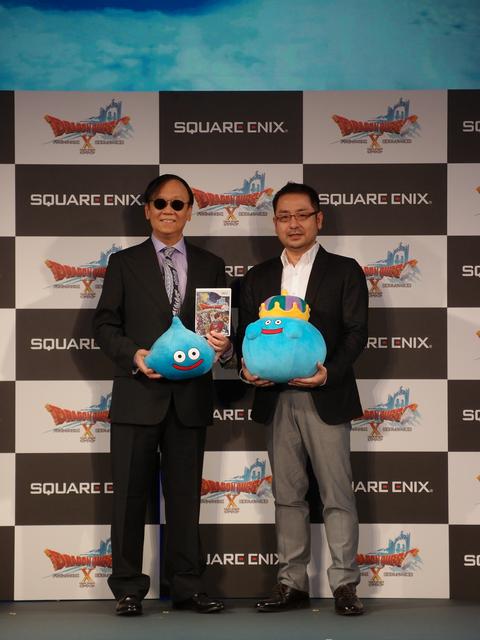 堀井氏(左)、齊藤氏(右)