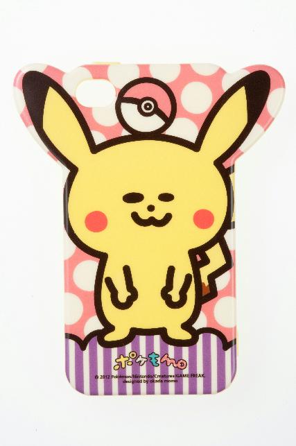 ソフトジャケット ポケもも ピカチュウ iPhone 4/4S対応(2,000円)