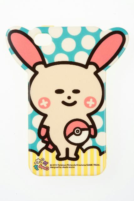ソフトジャケット ポケもも プラスル iPhone 4/4S対応(2,000円)