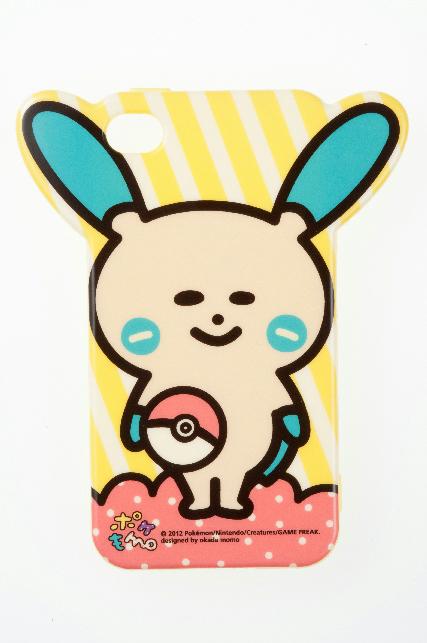 ソフトジャケット ポケもも マイナン iPhone 4/4S対応(2,000円)