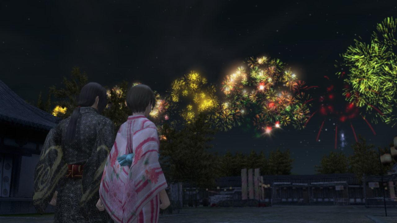 8月には「花火祭2012」が行なわれる