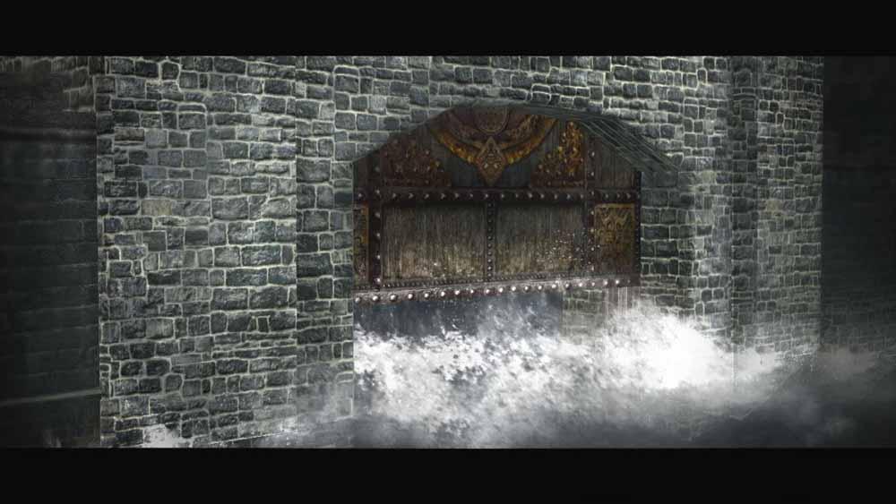 決められた拠点を占拠することで発動できるなど、絶招秘計の中にはステージによって使用が制限されるものもあるが、最適なタイミングで発動させることができれば、その戦闘の大勢を決することができるほど威力は大きい。このスクリーンショットでは、ステージ左上の場面で使用することができる大水計を使用したところ。大水計を使用することで、広範囲を水没させて範囲内の敵にダメージを与え、拠点機能を停止させる効果がある