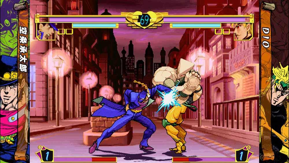 本体モードでの通常攻撃はキャラクター本人が直接攻撃したり、スタンドが一瞬出現し攻撃を繰り出したりする程度で、スタンドモードよりリーチが短い