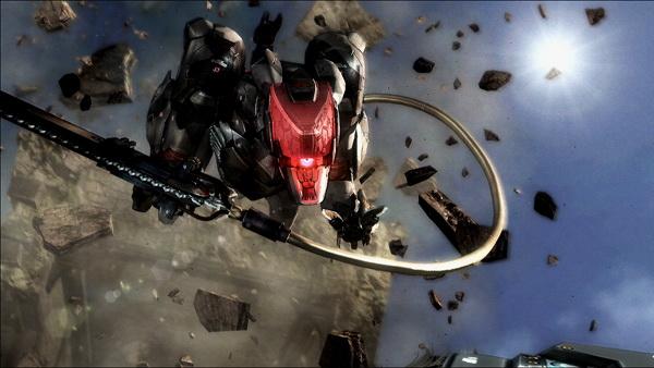 Gamescomで発表されたトレーラーに登場した、雷電抹殺の指令を受け、雷電の前に立ちふさがる謎の無人機……。物語の鍵を握る存在となるのだろうか?