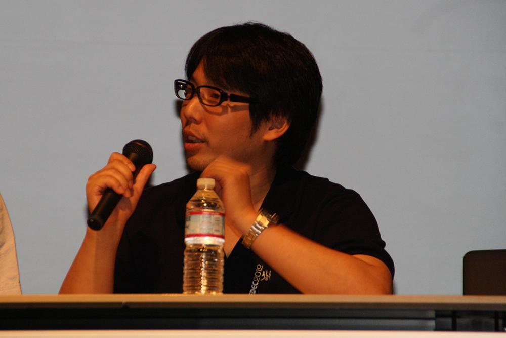 テクノロジー推進部のリードアーティスト岩田亮氏