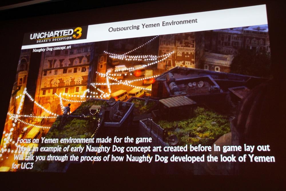 コンセプトアートは、Naughty Dog、XPECの両方で入念に摺り合わせた