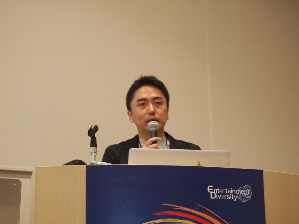 株式会社スクウェア・エニックス 開発部の森山朋輝氏