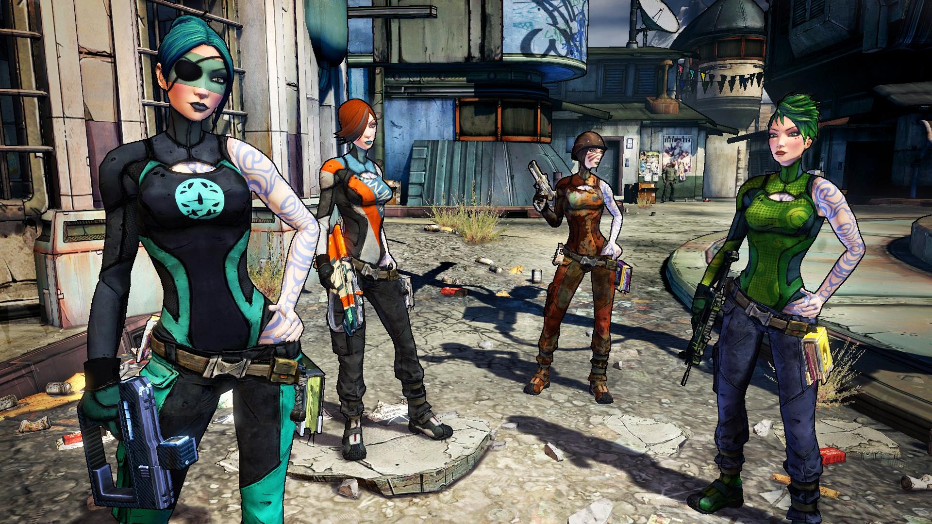 各キャラクターが持つ多彩な武器は、自動生成で生み出されたものだ