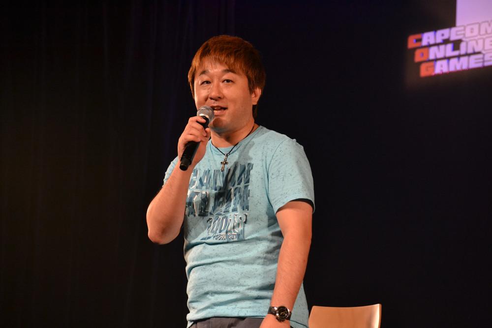 「MHF」ではかなり久々の登場となったエグゼクティブプロデューサーの小野義徳氏