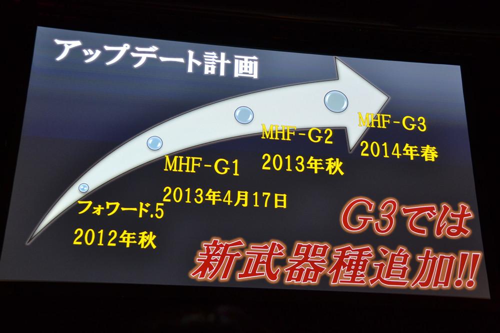 「G3」でついにオリジナルの新武器種が追加される
