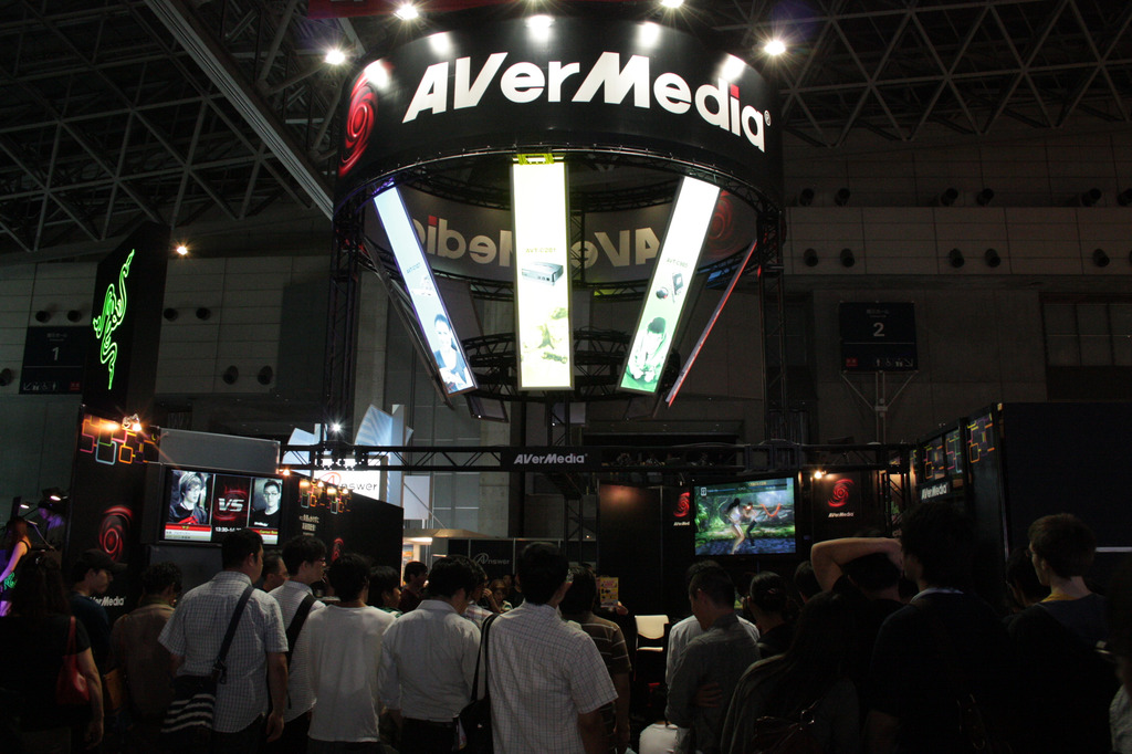 AVerMediaブース
