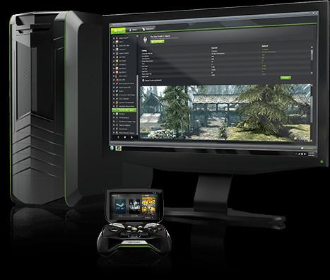 GeForce GTXを搭載したPCでのゲームをストリーミングし、プレイすることが可能