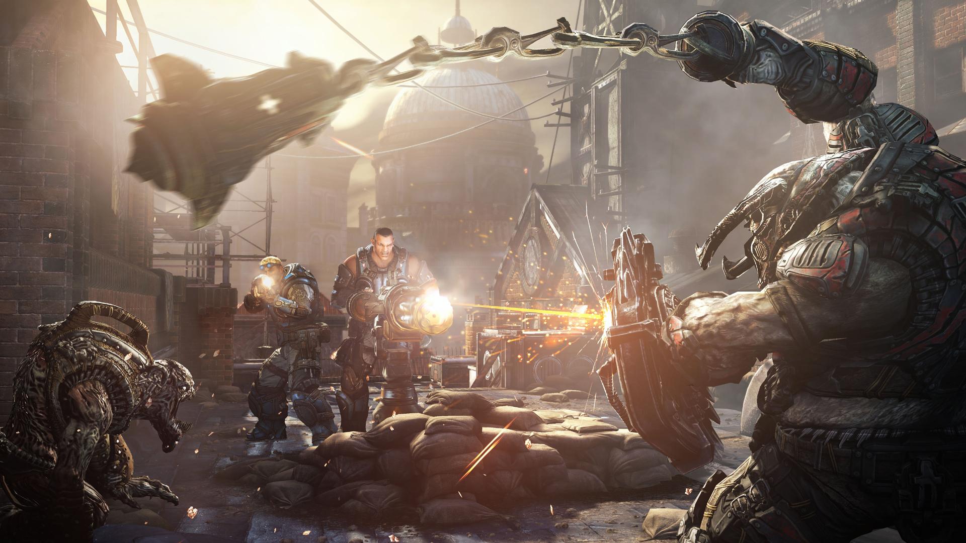 Epic Gamesが誇るUnreal Engine 3のポテンシャルを活かしたグラフィックスでゲームが楽しめる