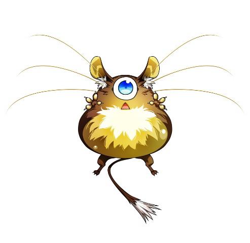 "<center class=""""><strong class="""">バルーンラット</strong></center><br class="""">空中にフワフワと漂う風船のようなネズミ。居眠り中に風に流されてしまうことが多い。可愛さのあまり手を伸ばすと噛み付かれることも"