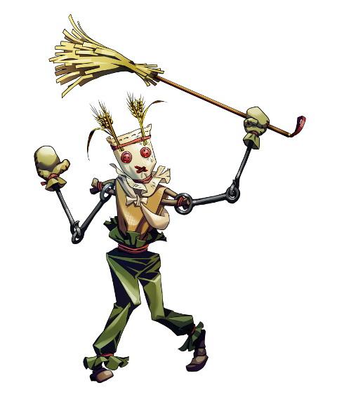 "<center class=""""><strong class="""">スケアーズ</strong></center><br class="""">魔法の力で動くお粗末なカカシ人形。死者の魂が封じ込められたミスリルの欠片を体内に持ち、それを動力として動く不死の眷属である"