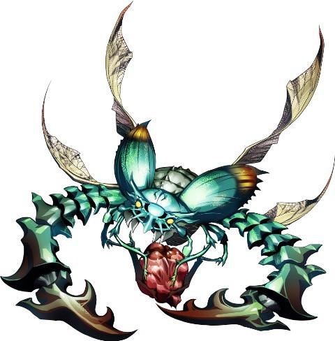"""<center class=""""""""><strong class="""""""">スカベンジャー</strong></center><br class="""""""">鋭いハサミを持つ飛行型の甲虫。動物の死肉などを漁る掃除屋で、群れで行動する。仲間をすぐ呼び集めるため、一気に殲滅してしまうのがよいだろう"""