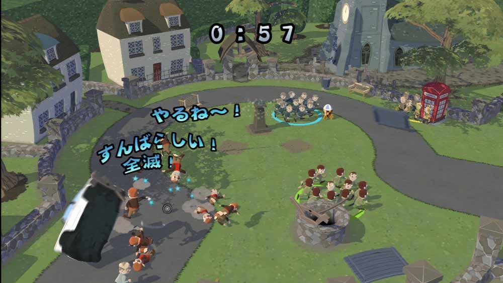 「VSモード」は、個人戦だけでなくチーム戦なども用意されている。バトル中に特定の方法で倒していくチャレンジモードもある。チャレンジモードでは1番に全てのメダルを獲得したプレーヤーが勝者となる