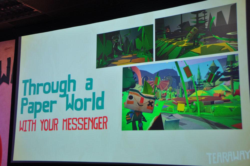 モンスターや風景、様々なものは全てペーパークラフトで表現されている
