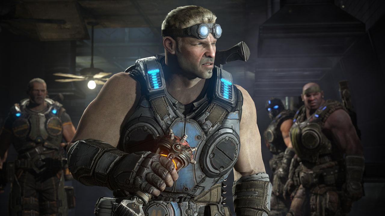 「Gears of War: Judgment」のストーリーモードでの主人公ベアード