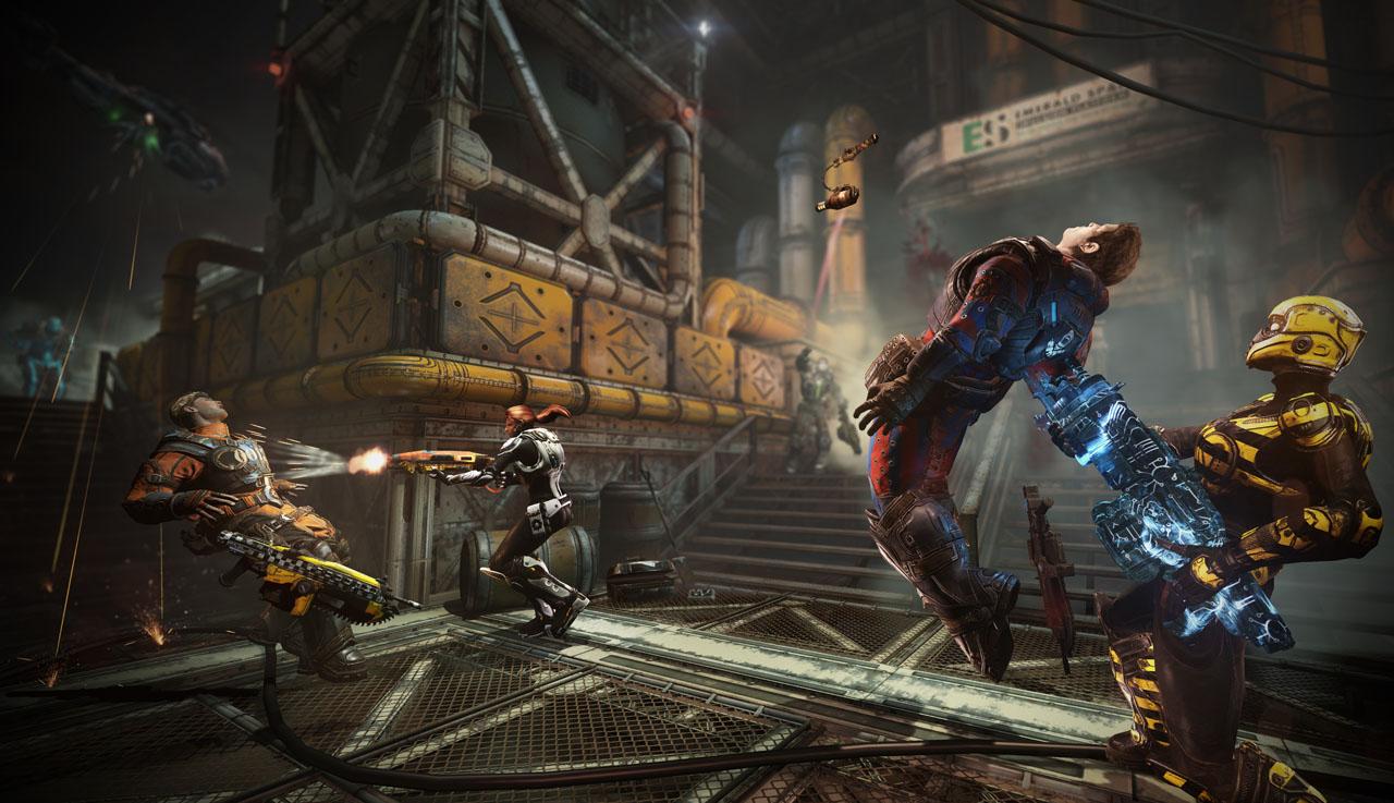 「Gears of War」シリーズ初となる「Free-For-ALL」。今回は人間同士のみだが、ローカスト同士の戦いも楽しそうだ