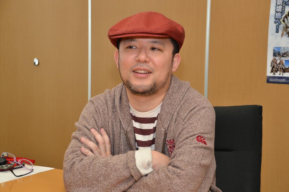 プロデューサーの杉浦一徳氏。現在はカプコン東京開発部 部長を務め、他のタイトルも見ているが、今回も「MHF」への強い思いを語ってくれた