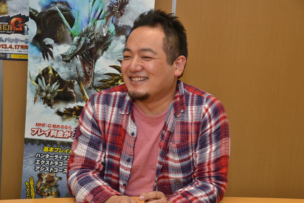 アシスタントプロデューサーの宮下輝樹氏。今回は課金周りやイベント企画などについて説明していただいた