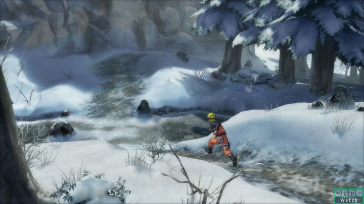 「鉄の国」も加わり、広大な忍界がゲーム上で再現されている