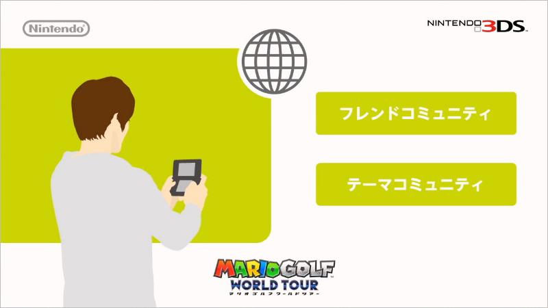 多彩なネットワーク機能も搭載された「マリオゴルフ ワールドツアー」