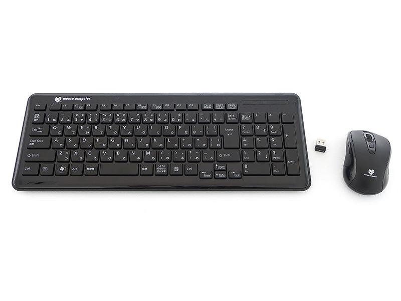 LM-ONE-T2710G67BRにはワイヤレスのキーボードとマウスが標準で付属する
