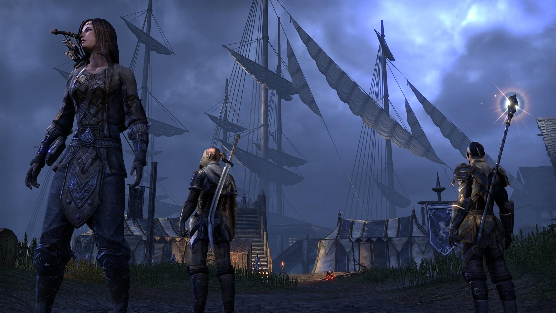 Bethesda Online Studios独自開発のゲームエンジンによる美しいグラフィックス。昨年公開されたスクリーンショットと比較すると、エフェクト回りの表現が充実し、一気にリアリティが増した