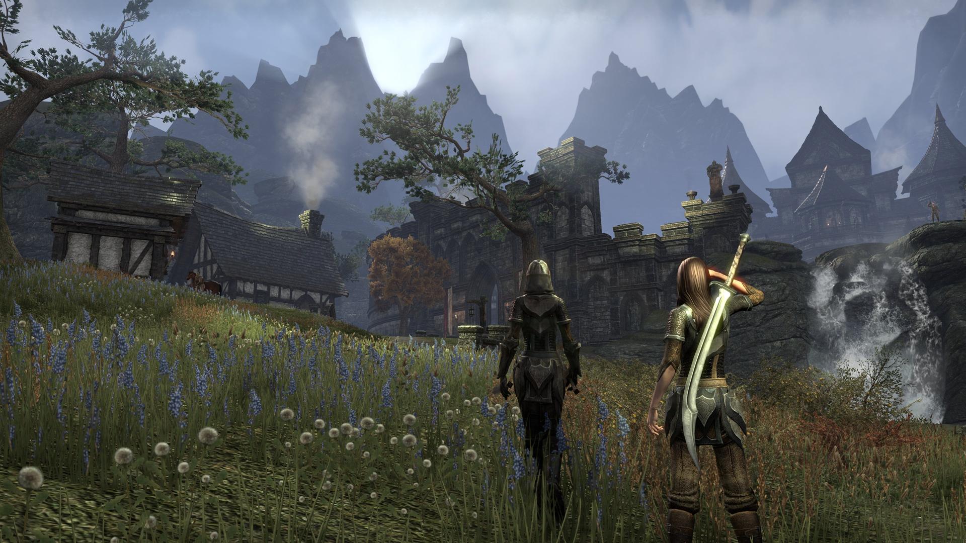 「Elder Scrolls」シリーズとエンジンは別ということだが、同シリーズの魅力であるハイファンタジーの雰囲気はたっぷりだ