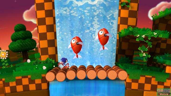 Wii U GamePadを使ったバリエーション豊かな操作でソニックを楽しめる
