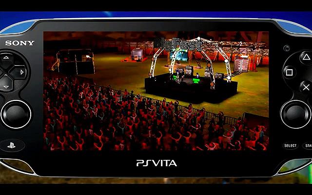 「BIG FEST」音楽フェスティバルを企画運営するプロモーターになりきれるシミュレーション。ネットワークを介した要素も盛り込まれているようだ
