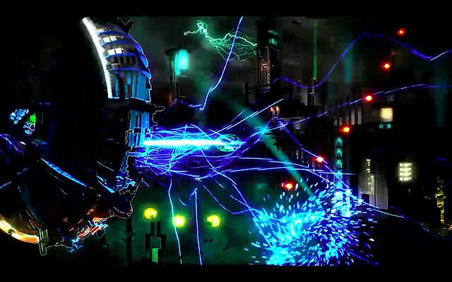 「SUPER STARDUST HD」を制作したHousemarqueによる新作「RESOGUN」。全方位シューティングとしてより磨きが掛けられている