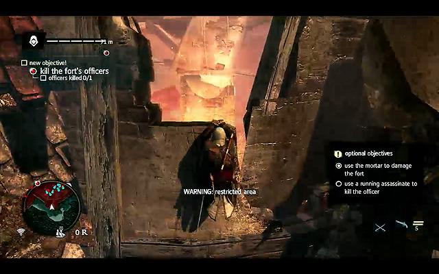 「ASSASSIN'S CREAD IV Black Flag」のプレイアブルデモ。途中からPS Vitaでプレイして見せた