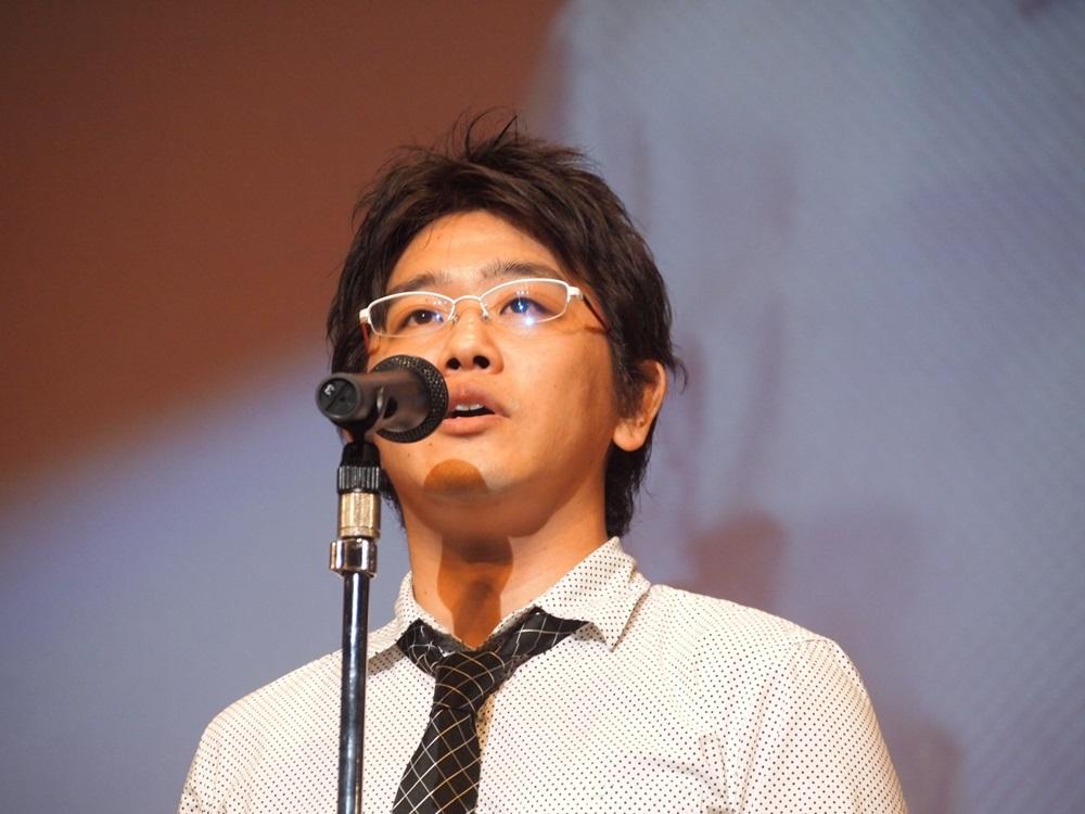 著述賞を受賞した株式会社バンダイナムコスタジオの堂前嘉樹氏