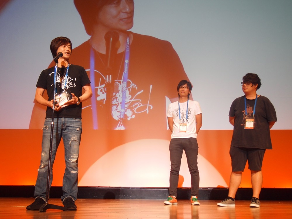 ビジュアルアーツ部門最優秀賞を受賞した「アニメ ジョジョの奇妙な冒険」オープニング制作チーム