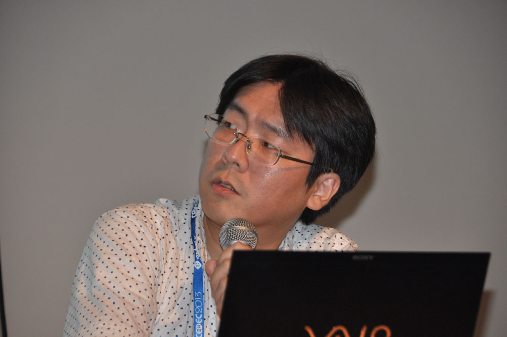 本作のサウンドディレクターを務めるスクウェア・エニックスの矢島友宏氏
